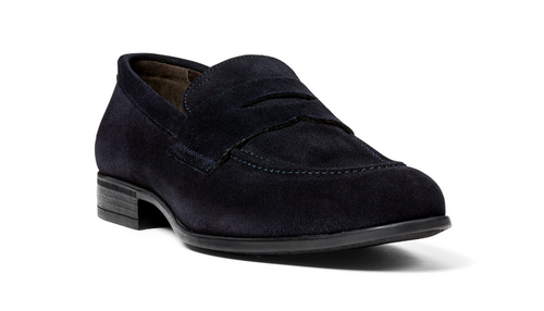 G.Brown Cannon Navy Suede