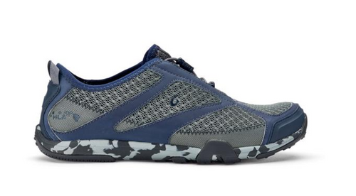Olukai Men's 'Eleu Trainer Sneaker Charcoal/Trench Blue
