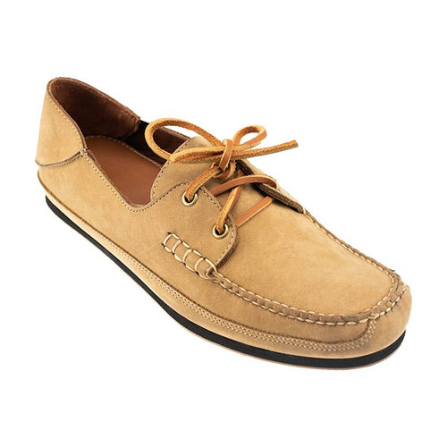 Sherman Brothers Alex Nubuck Boat Shoe Beach Sand