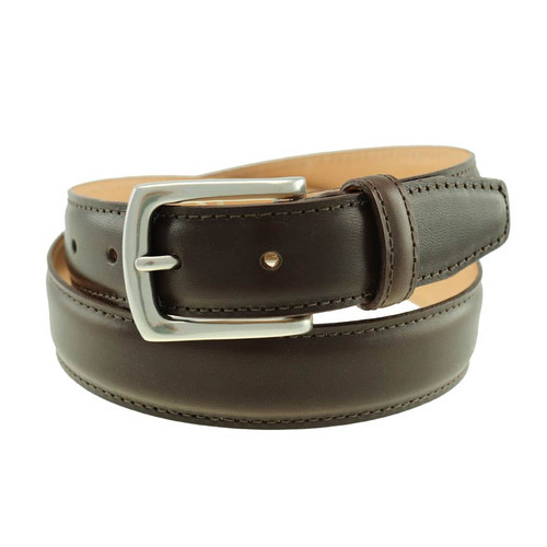 Sherman Brothers Torrence Dress Belt Mahogany