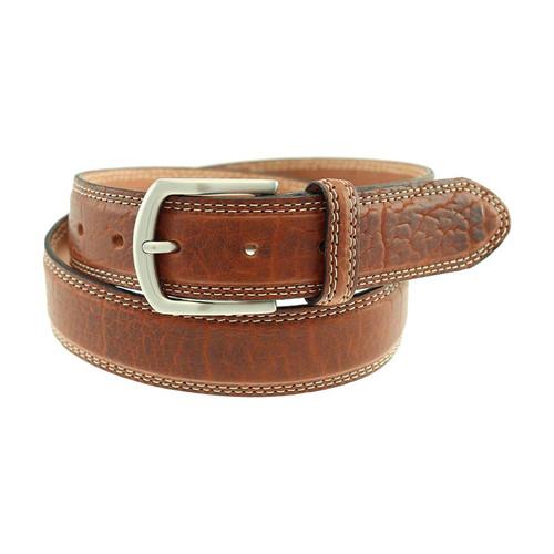Sherman Brothers Raleigh Bison Belt Walnut