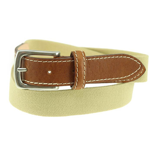 Sherman Brothers Richard Surcingle Belt Khaki