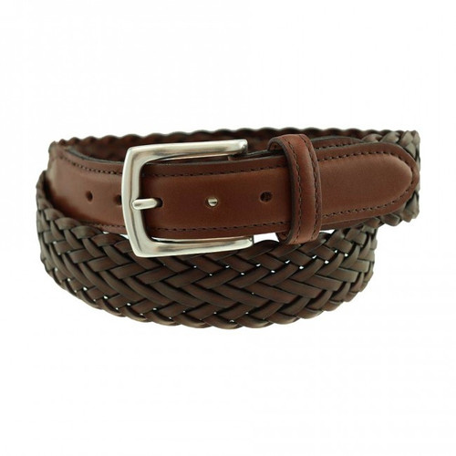Sherman Brothers Maxwell Braided Belt Waxy Briar