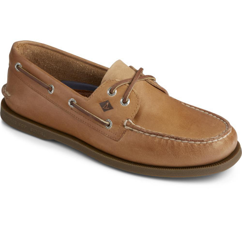 Sperry Men's Authentic Original Leather Boat Shoe Nutmeg Leather