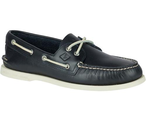 Sperry Men's Authentic Original Leather Boat Shoe Navy