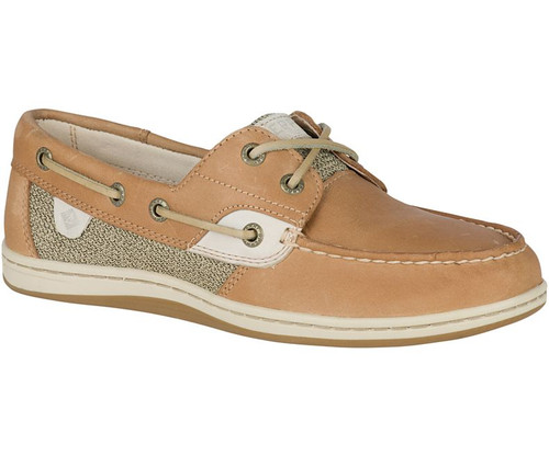Sperry Women's Koifish Boat Shoe Linen Oat