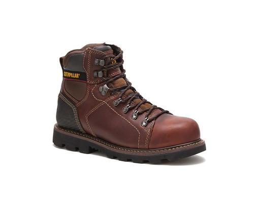 CAT Footwear Men's Alaska 2.0 Steel Toe Work Boot Brown