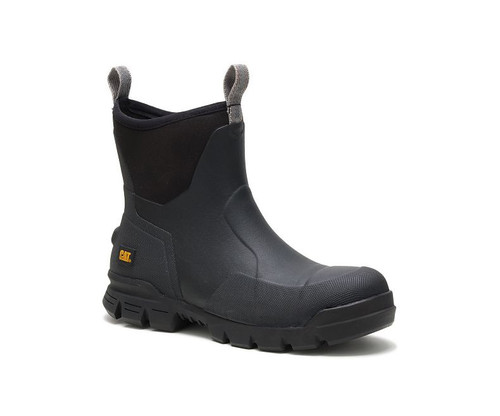 "CAT Footwear Stormers 6"" Soft Toe Work Boot Black"