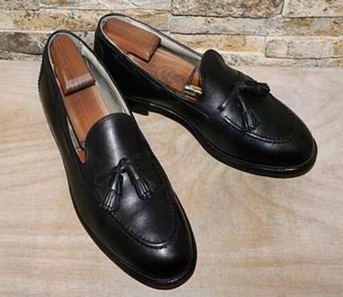 Alden Tassel Moccasin Black Soft Calf #3695F