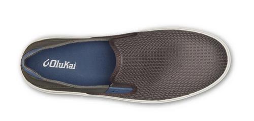 Olukai Men's Lae 'Ahi Slip On Sneakers Pavement/Pavement