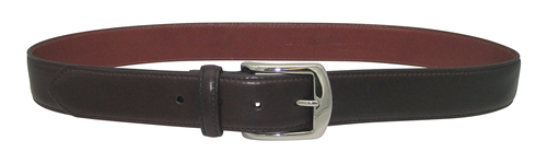 "Alden 1.25"" Shell Cordovan Dress Belt Color 8 with Nickel Buckle # MB0918"