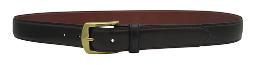 "Alden 1.5"" Genuine Shell Cordovan Dress Belt Color 8 with Gold Buckle # MB5908"