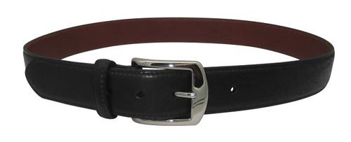 "Alden 1.5"" Genuine Shell Cordovan Dress Belt Black with Gold Buckle # MB5905"