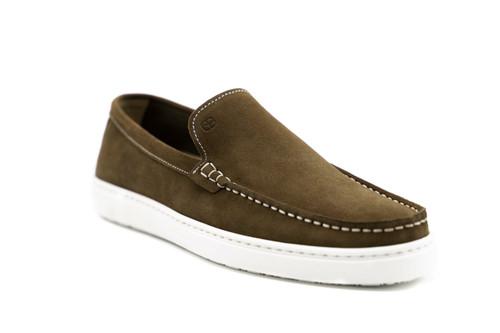 G. Brown Bert Suede Slip on sneakers Rust #525