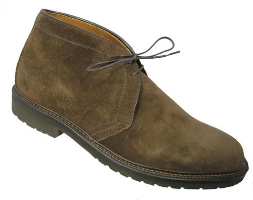 Alden - Men's Dark Brown Suede Chukka Boot #1273S