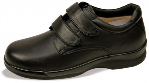 Apex Men's Conform Double Strap Single Shoe Right Only Black