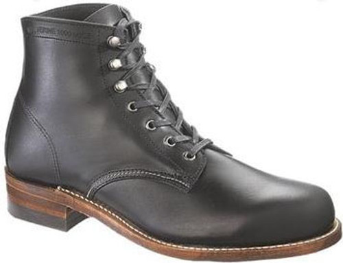 Wolverine Men's Black 1000 Mile Plain Toe Boot