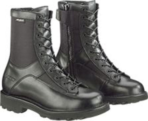 "Bates Men's 8"" Durashocks Lace-to-toe Side Zip Boot"