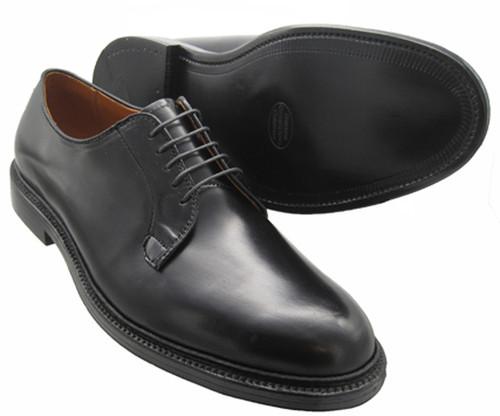 Alden Plain Toe Blucher Black Shell Cordovan #9901