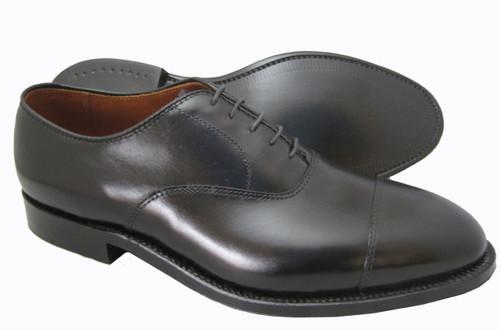 Alden Straight Tip Bal Black Calfskin #907