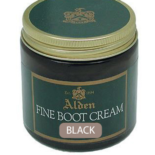 Alden Fine Boot Cream Black