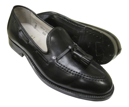 Alden Tassel Moccasin Black Genuine Shell Cordovan #664