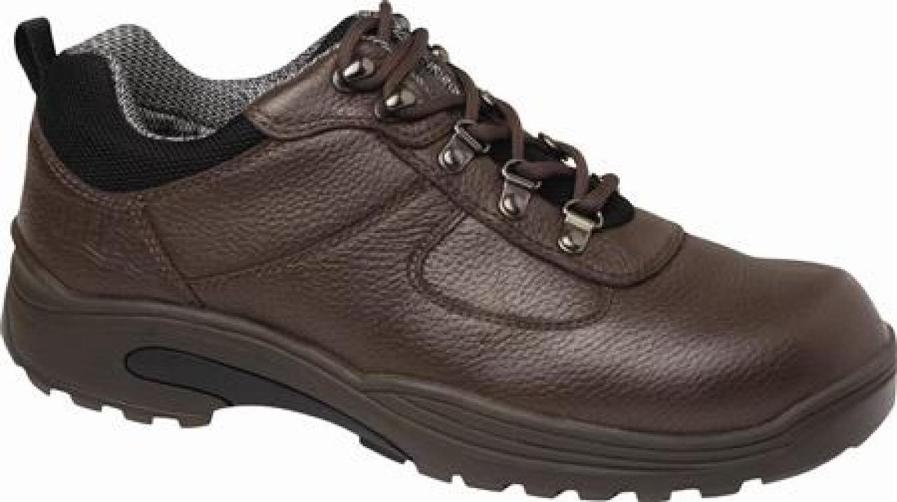 Drew - Men s Boulder Brown Waterproof and Insulated Leather Hiking Shoe decc530175ae