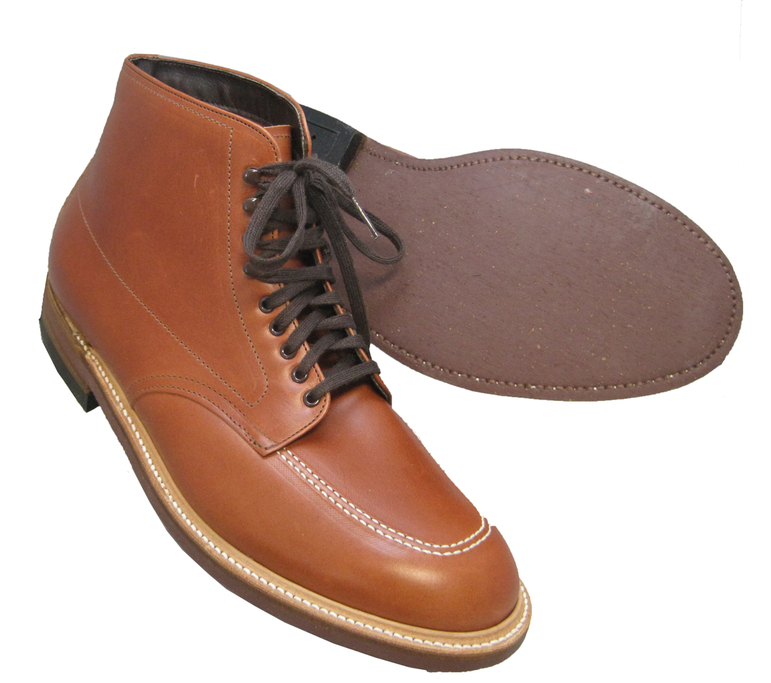 e7a8acfdc90 Alden Indy Workboot Original Brown Leather #405