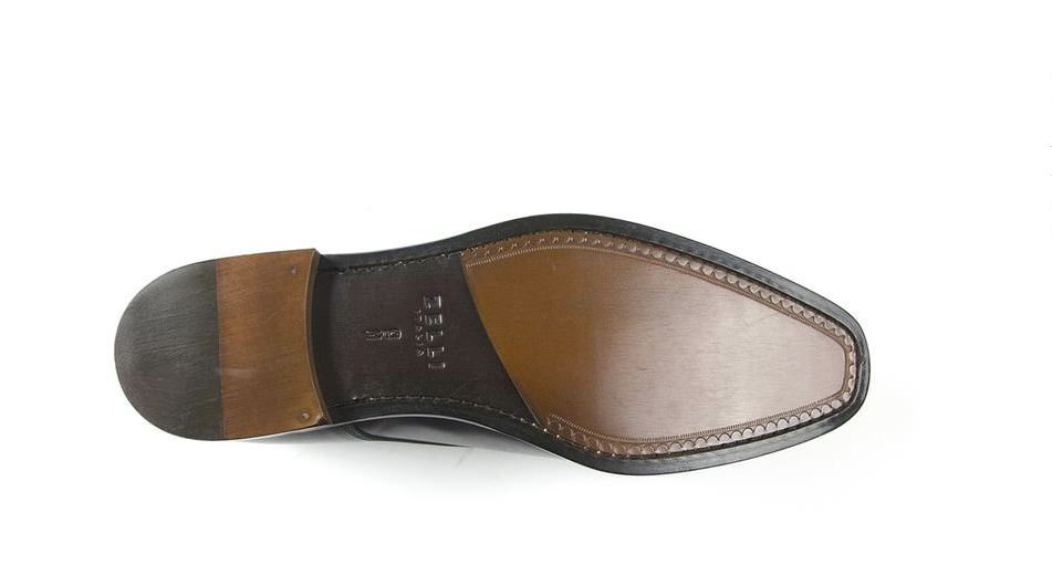 107ce7aab18 Zelli Enzo Italian Calfskin Lace-Up Black - Sherman Brothers Inc