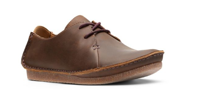 Clarks Women's Janey Mae Beeswax Leather