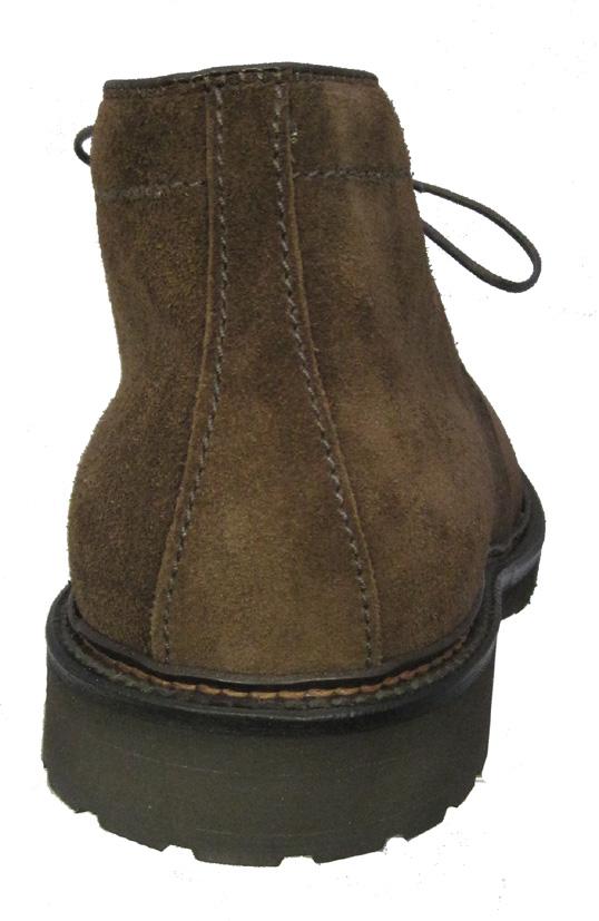 Alden Men S Dark Brown Suede Chukka Boot 1273s Sherman Brothers Inc