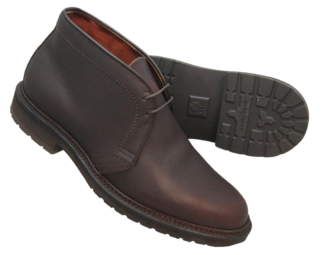 6017585927c Alden Chukka Boot Dark Brown Kudu #1272S