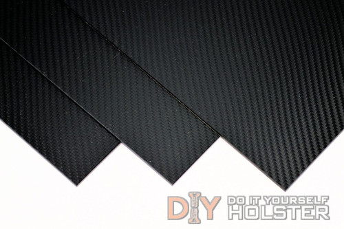 "Carbon Fiber Pattern - 8"" x 12"" .080 Black"