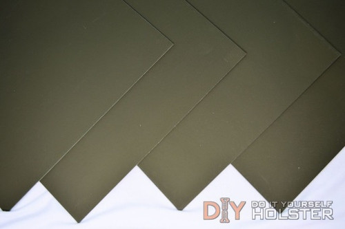 "8"" x 12"" Boltaron Sheet Stock .080 Olive Drab Green"