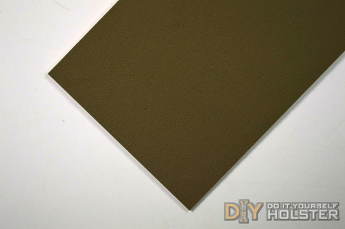 "8"" x 12"" Boltaron Sheet Stock .080 Flat Dark Earth"