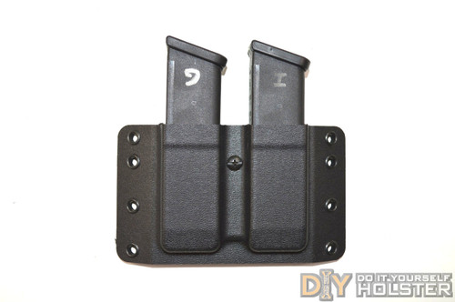 Vacu-Formed OWB Pancake-Style Double Pistol Magazine Carrier Shells