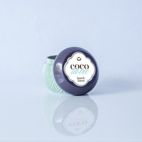Coco La Vie Beach Linen scented massage candle