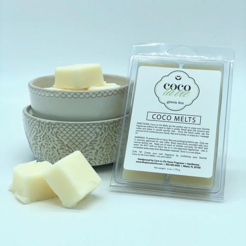 Coco La Vie GREEN TEA Coconut Wax Melts