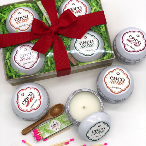 Coco La Vie Holiday Collection Travel Candle Sampler