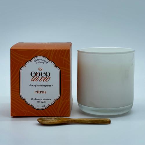 Coco La Vie Citrus Scented Candle