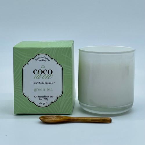 Coco La Vie Green Tea Scented Candle
