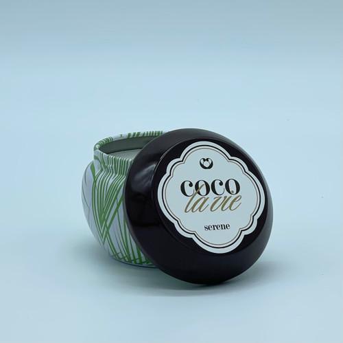 Serene [Palo Santo] Scented Coco La Vie Massage Travel Tin