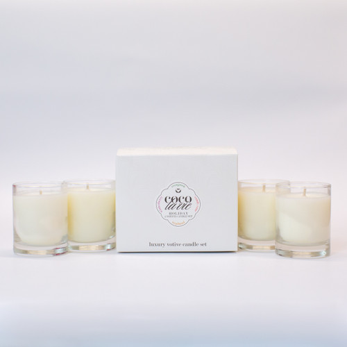 3oz Luxury Votive Set of 4