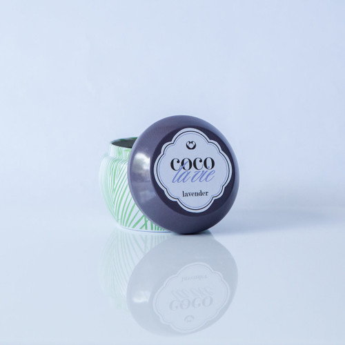 Lavender Scented Coco La Vie Massage Travel Tin