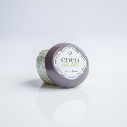 Coco Cabana Scented Coco La Vie Massage Travel Tin