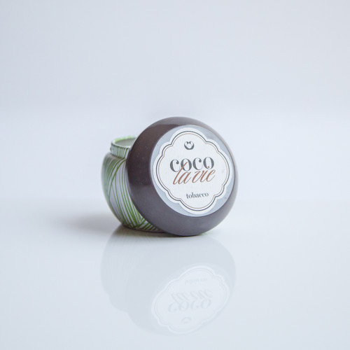 Coco La Vie Tobacco Scented Travel Massage Candle