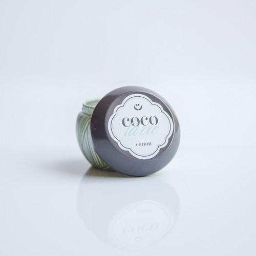 Coco La Vie Cotton Scented Travel Massage Candle