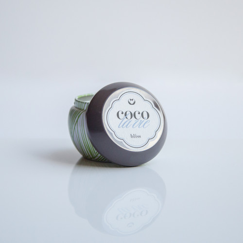 Coco La Vie Bliss Scented Travel Massage Candle