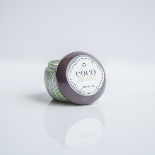 Coco La Vie Green Tea Scented Travel Massage Candle