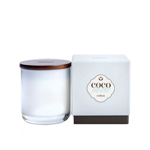 Coco La Vie Cotton Scented Candle